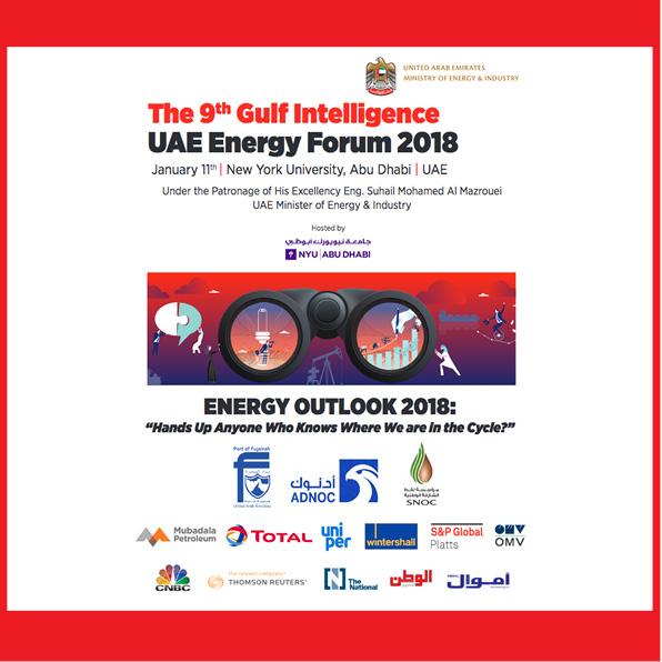 The Gulf Intelligence UAE Energy Forum 2018